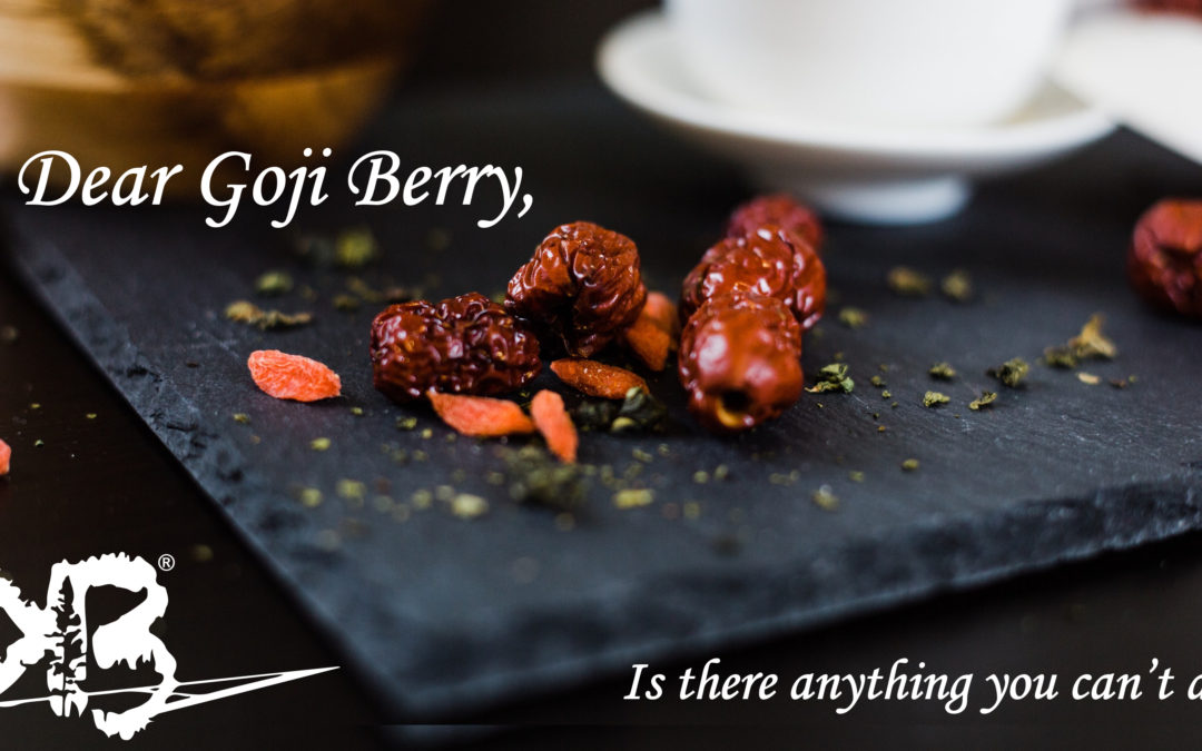 Is there anything a Goji Berry can't do?